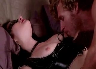Blindfolded pale beauty and her horny brother