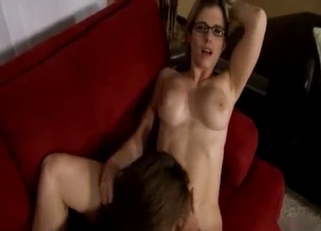POV threesome with two MILFs, incest HD
