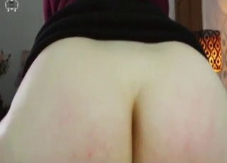 Big booty beauty riding dad's dick in reverse cowgirl